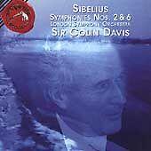 Jean Sibelius: Symphonies Nos. 2 & 6 (CD, Oct-1995, RCA)