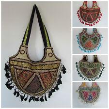 Tassle Bag Handbag Ethnic Hippy Boho Hippy Pakistani Embroidered Deluxe Beaded