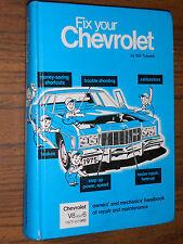 """1966-1975 """"FIX YOUR CHEVROLET"""" SHOP MANUAL / REPAIR BOOK 72 71 70 69 68 67 66 65"""