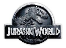 JURASSIC World Sticker Decal *SIZES* Vinyl Wall Logo Safari Dinosaur Park B&W