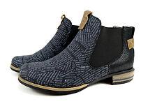 Elegante Damen Boots Herbst Stiefeletten Stiefel Gr.36-41 A.H505 Schwarz SuperMe