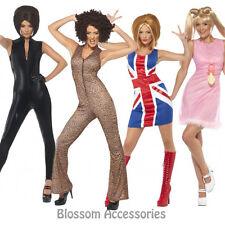 CL241 Women's 90's Icon Spice Girls Pop Star Fancy Dress Up Celebrity Costume