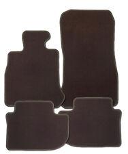 Fußmatten für Peugeot 5008 II Bj. ab 4.17 in Velours Deluxe dunkelbraun / brasil