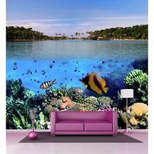 Sticker mural poissons tropicaux H 2,6 x L 2,7 mètre P124