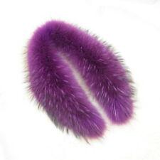 Women Real Fur Collar for Jackets Coat Lining 75cm Fashion Warm Scarf 31075