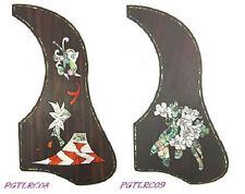 J-200 Sj-200 Style Acoustic Guitar Pickguard Black /& Gold PG35