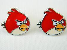 Red Cute Birds Stud Earrings Studs Fashionable Girl Women Jewellery E72