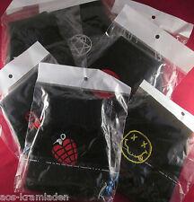 Fingerlose Handschuhe mit Logostick - Unisex Einheitsgröße Punk Rock