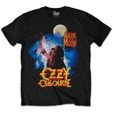 Official Ozzy Osbourne T Shirt Bark At The Moon Classic Rock Metal Black Sabbath