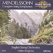 Mendelssohn: Complete String Symphonies Vol. 3, New Music