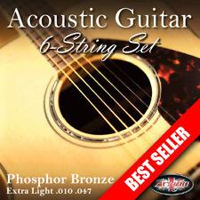 3 PACKS of Adagio Pro Acoustic Guitar Strings - Gauges 10 to 12