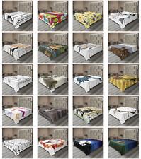 Ambesonne Deer Flat Sheet Top Sheet Decorative Bedding 6 Sizes