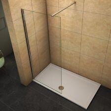 30-160cm Walk In 8mm Nano Glas ESG Dusche Duschabtrennung Duschwand Duschkabine