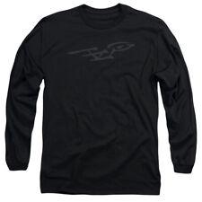 STAR TREK BUSHWORK ENTERPRISE T-Shirt Men's Long Sleeve