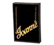 Collar Con Nombre Joanne – 18K Chapado Amor Cumpleaños San valentín Familia