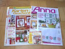2x  ANNA 9/05 + SPEZIAL-Heft -- KURS: SCHWARZSTICKEN + STIMMUNGSVOLLE FESTE
