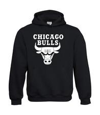 Señores Hoodie i kapu i chicago bulls i proverbios i Fun i divertido hasta 5xl