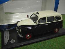 RENAULT COLORALE TAXI nre 1953 1/43 SOLIDO 42143121 voiture miniature collection