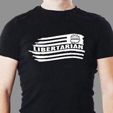 Libertarian flag backwards USA  T Shirt