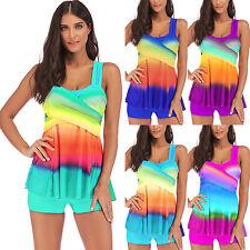 c9b67c26b36a6 Plus Size Womens Swimwear Bikini Set Tankini Swimsuit Bathing Suit Beachwear