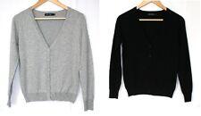Damen Jacke Cardigan Strickjacke Pullover Pulli Gr.M-XL kurz Neu