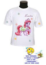 tee shirt enfant poney personnalisable prénom réf 141
