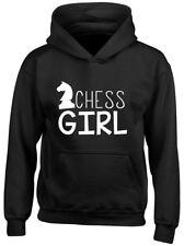 Chess Girl Kids Childrens Hoodie