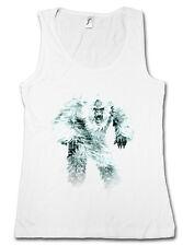 Yeti I Femmes Tank Top Monstre Bigfoot Creature Népal Snowman Himalaya Big Foot