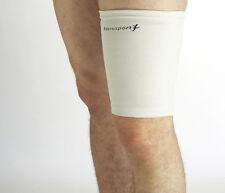 SUPPORTO elastico coscia STEROSPORT muscoli ischiocrurali QUAD Bendaggio Gamba Manica Brace Wrap