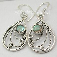 925 Silver Designer Earrings LABRADORITE & Other Gemstones Variation To Choose