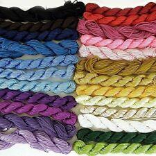 Nylon Braided Kumihimo Shamballa Cord Thread - *20m x 1mm* Complete Hank