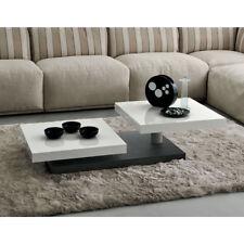 Tavolino da caffè particolare per salotto modello Cecilia cm L115(140)xH29,5xP60