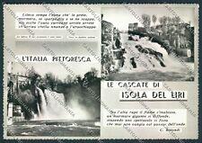 Frosinone Isola del Liri Foto FG cartolina D5284 SZD