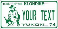 Yukon Canada 1974 License Plate Personalized Custom Car Bike Motorcycle Moped