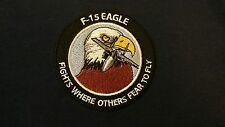 USAF UNITED STATES AIR FORCE F-15 EAGLE POLO SHIRT