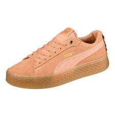 Puma Smash Plataforma Volante Zapatillas Zapatos Mujer 366928 02 Naranja