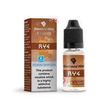 Diamond Mist RY4 Flavour Multi-Buy 10 bottles Various Strengths 0mg-18mg