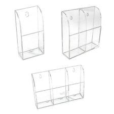 TV Klimaanlage Fernbedienung Halter Acryl Wandhalterung Aufbewahrungsbox T8Q3