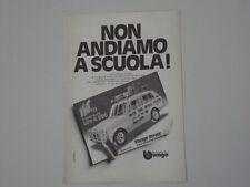 advertising Pubblicità 1976 RANGE ROVER  BBURAGO