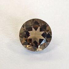 Natural 7, 8, 9, 10 mm Round Loose Smoky Quartz Gemstone