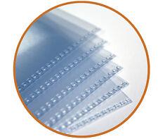 Largo Certificado Mangas-de calidad de archivo, ácido libre (paquete De 10)