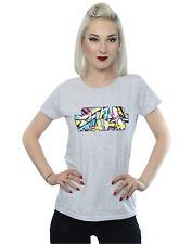 Star Wars Women's Sporty Pop Logo T-Shirt