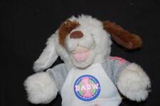 "Build a Bear BABW 1 Jean Skirt White Spot Dog Lovey TOY 8"" Plush Stuffed Animal"