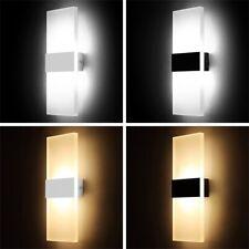 18W LED Wandleuchte Innen Modern Wandlampe Wohnzimmer Schlafzimmer Treppenhaus