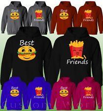 BFF Best friend Couple Hoodie BFF Hoodie  Best Friends Matching Sweater Couple
