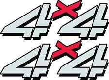 1998 - 2007 Vinylmark 4x4 Bedside Decals for Chevy GMC 4WD 1500 2500 Stickers