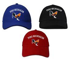 Cap Hat Puro Michoacan_100% Cotton_ Adjustable Strap_Digital Transfer Logo_.