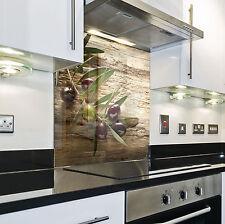 Splashback Paraschizzi Paraspruzzi Rivestimento Cucina olive natura legno