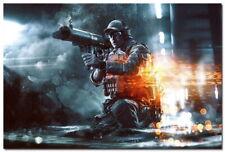 64213 Battlefield 4 Second Assault War Game Wall Print Poster CA