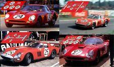 Calcas Ferrari 312P 12h Sebring 1969 25 1:32 1:24 1:43 1:18 312 slot decals
